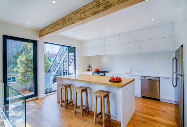 Projet de rénovation de cuisine moderne ou contemporaine | Cuisine Beaujoly | Designer cuisiniste à Sainte-Thérèse