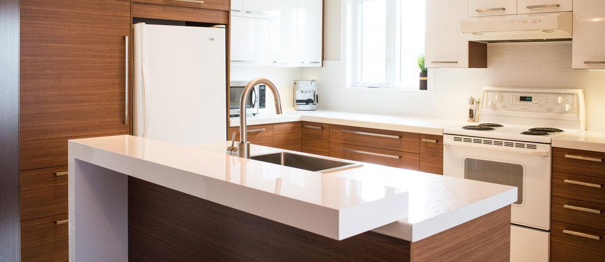 Projet de rénovation de cuisine par Cuisine Beaujoly | Designer cuisiniste | cuisines modernes, contemporaines et classiques