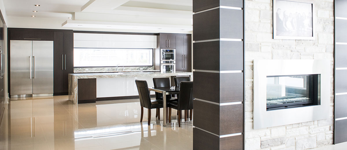 Design de cuisine moderne et contemporaine | Cuisine Beaujoly | Designer-Cuisiniste à Sainte-Thérèse